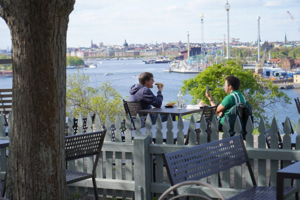 brunch-stockholm-vacker-vy-gröna-lund-djurgården